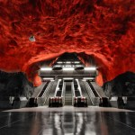 stockholm subway station images