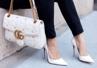 poshclassymom-spring-pantone-trend-preview-hm-pink-sweater-anine-bing-jeans-christian-louboutin-white-so-kate-gucci-marmont-7
