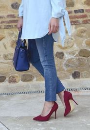 blue-look-outfit-azul-off-the-shoulders-blouse-jeans-red-stilettos-trends-gallery 5