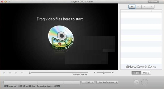 iSkysoft DVD Creator 5.1.1.0 - Download the best Mac Apps