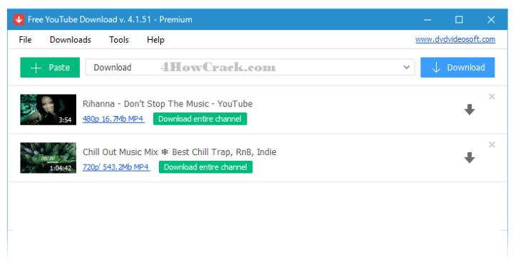 Free YouTube Download Premium Key