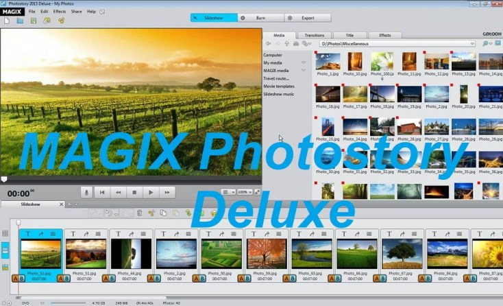 MAGIX Photostory Deluxe Serial Key