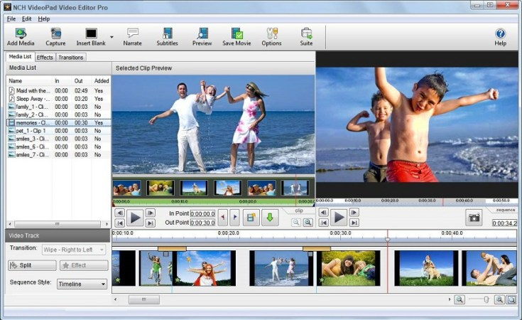 NCH VideoPad Video Editor Pro Activation Key