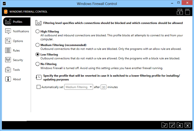 Windows Firewall Control Serial Key