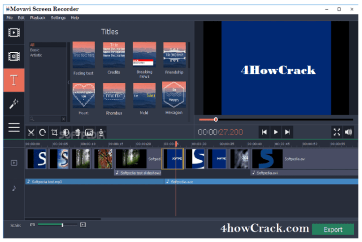 Movavi Screen Recorder Activation Key Download