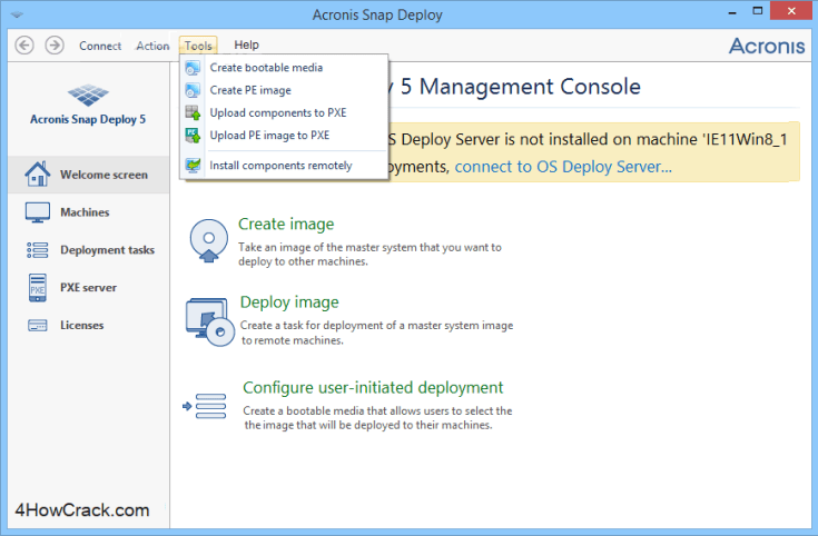 Acronis Snap Deploy Serial Key