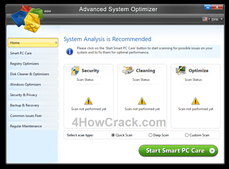 Advanced System Optimizer License Key