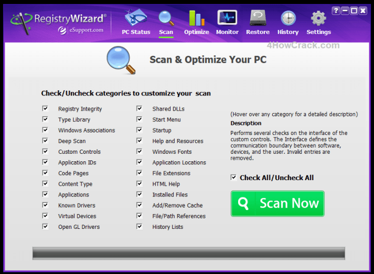 RegistryWizard License Key