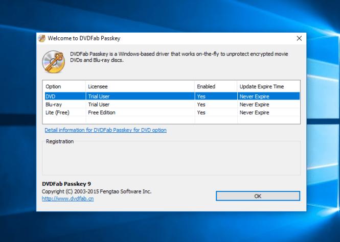 DVDFab Passkey Registration Key