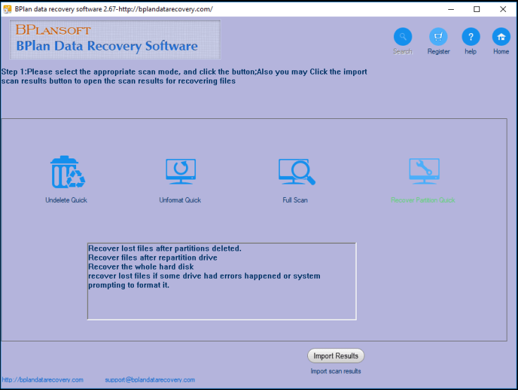 Bplan Data Recovery Software Register Code