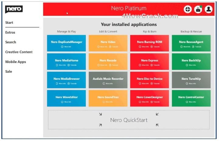 Nero Platinum 2021 Suite Serial Key