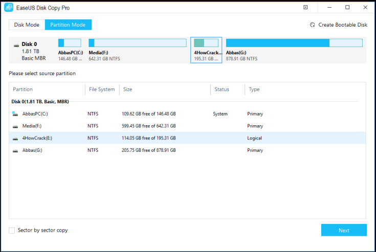 EaseUS Disk Copy Pro License Code