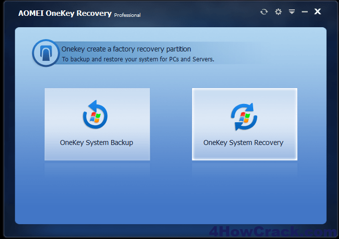 AOMEI OneKey Recovery Pro License Code Download