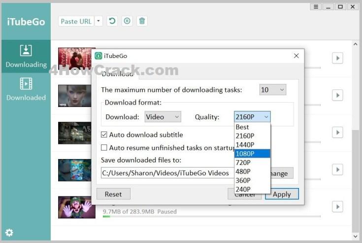 iTubeGo YouTube Downloader Registration Code