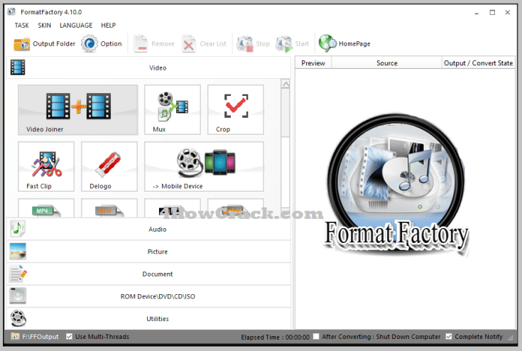 Format Factory Full Version Free Download