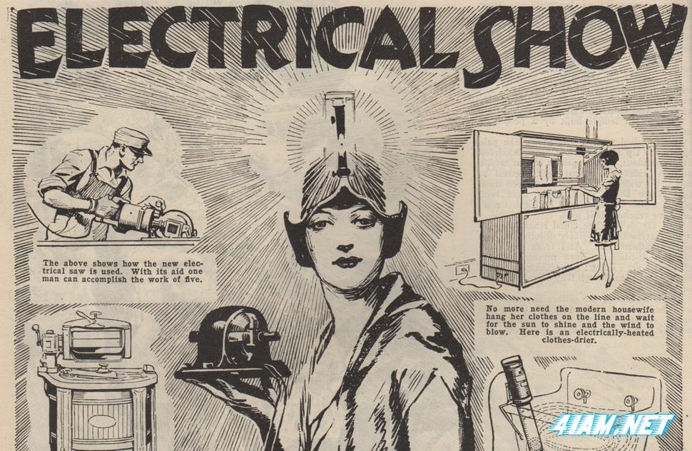 Прообраз CES 20-х годов 20-го столетия