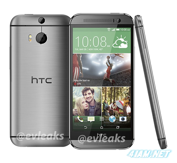HTC All New One, HTC M8, 2014