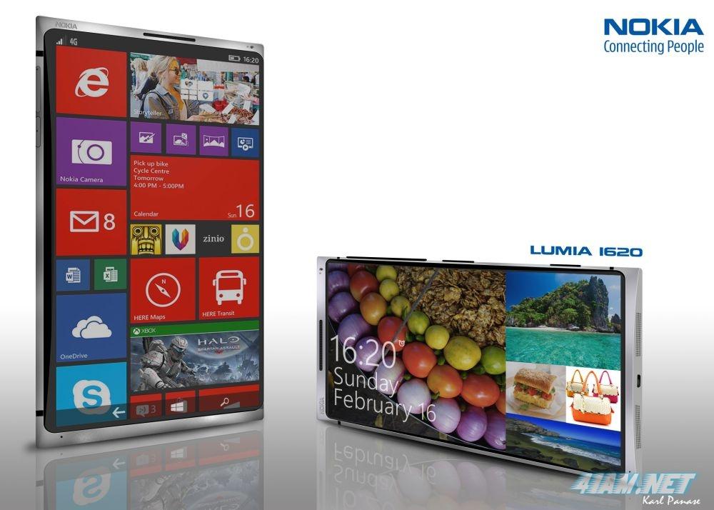 Концепт смартфона Nokia Lumia 1620