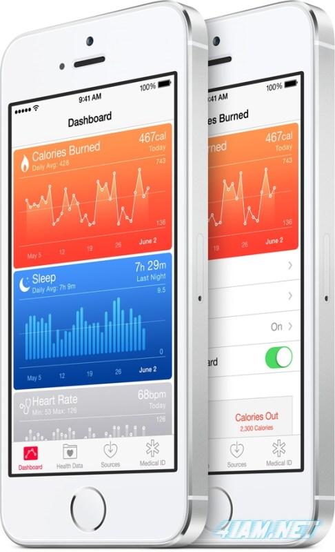 apple ios 8 health