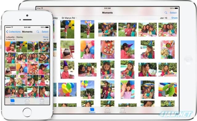 apple ios 8 icloud photos