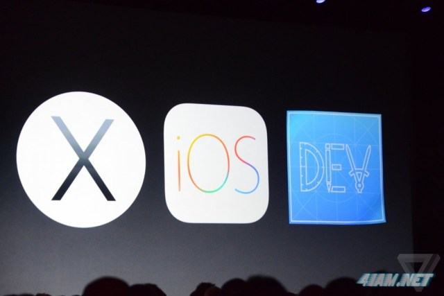 wwdc presentation apple ios 8 and OS X 10.10 Yosemite