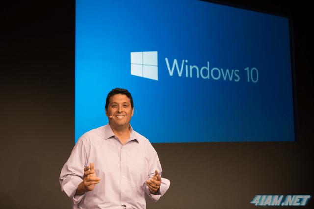 Microsoft Windows 10 Terry Myerson