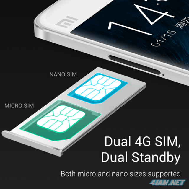 Xiaomi Mi Note Specifications (Dual 4G SIM)