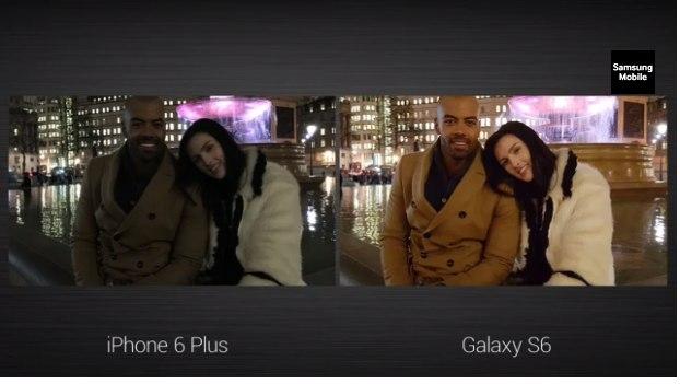 Galaxy S6 МЫ iPhone 6 Plus