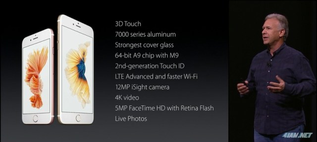 Apple iPhone 6s and 6s Plus Presentation Live