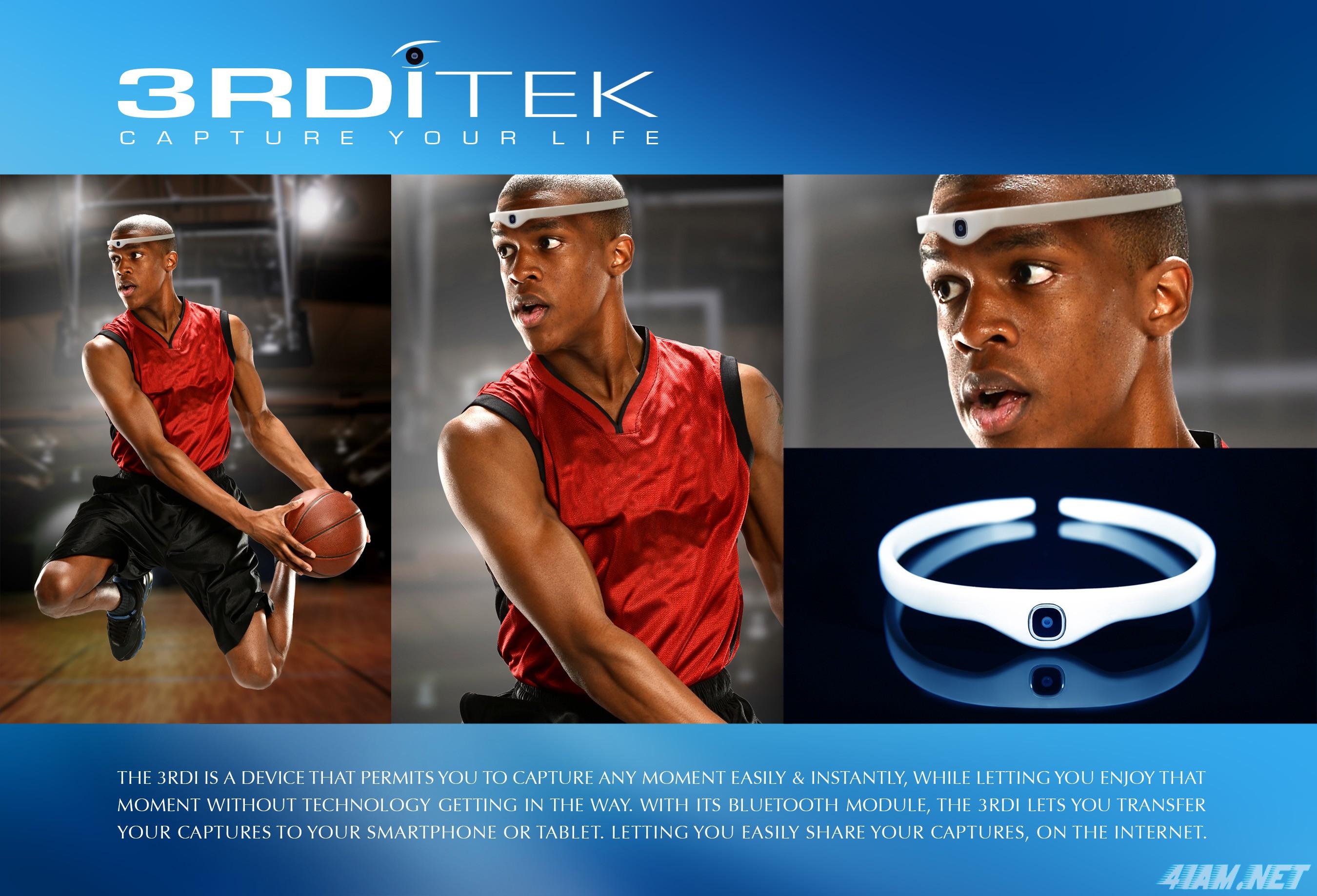 3RDI – повязка на голову с HD камерой