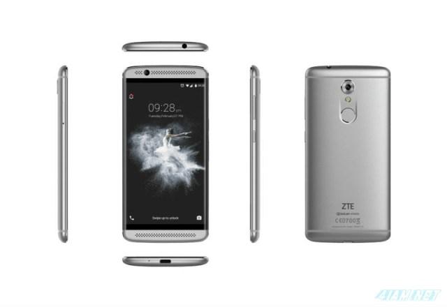 ZTE Axon 7 Mini Silver 360°
