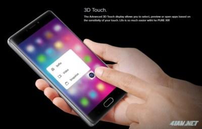 BLU Pure XR — смартфон с 3D Touch за $299