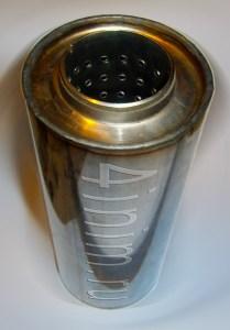 пламегаситель 350 мм нержавейка