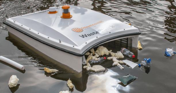 робот для сбора мусора в океане