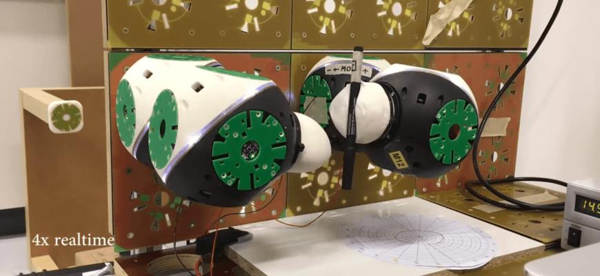 Адаптивная мебель из умных комнатных роботов Roombot