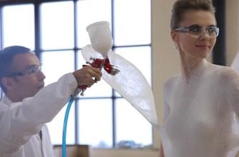 Одежда из баллончика – жидкая ткань
