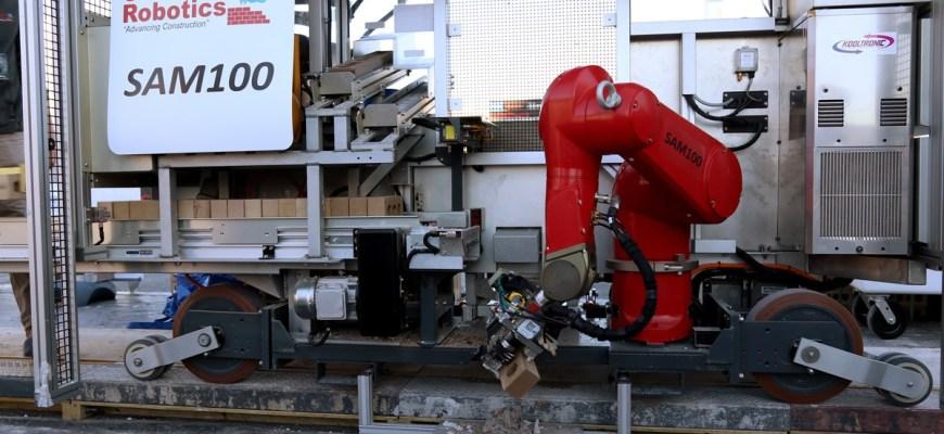 Робот-каменщик SAM 100