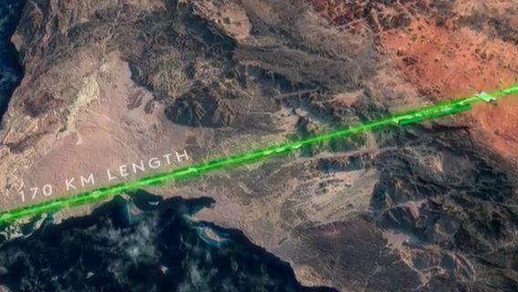 The Line – экологический город будущего в Саудовской Аравии