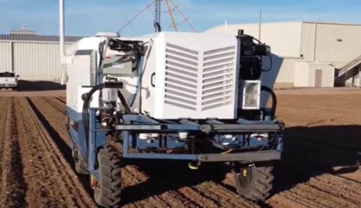 сельскохозяйственные роботы