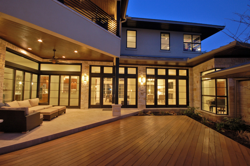 Cortona Exterior - by Cornerstone Architects, Austin, TX