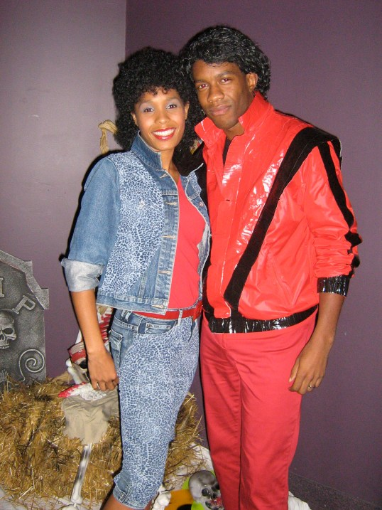 THRILLER NIGHT!  MJ & Ola Ray