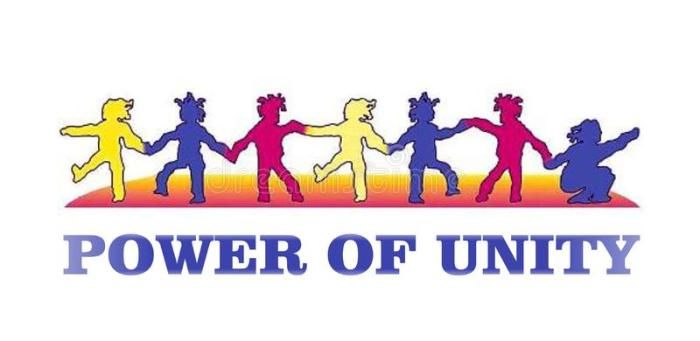 colorful-poster-children-showing-power-unity