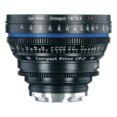 Carl Zeiss CP.2 3.6/18mm T*