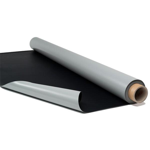 Rosco Black/Grey Dance Floor - vinil negru/gri 1m liniar