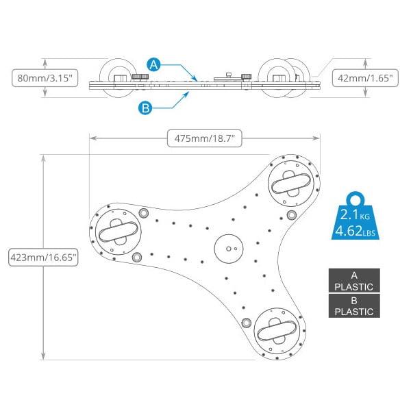 SmartSystem Smart 3 Reflex Dolly