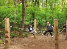 Het SabeltandTijgerspoor: klim en spring als een Sabeltandtijger!