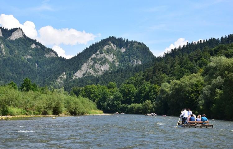 Vlotvaren op de Dunajec, dwars door Nationaal Park Pieniny