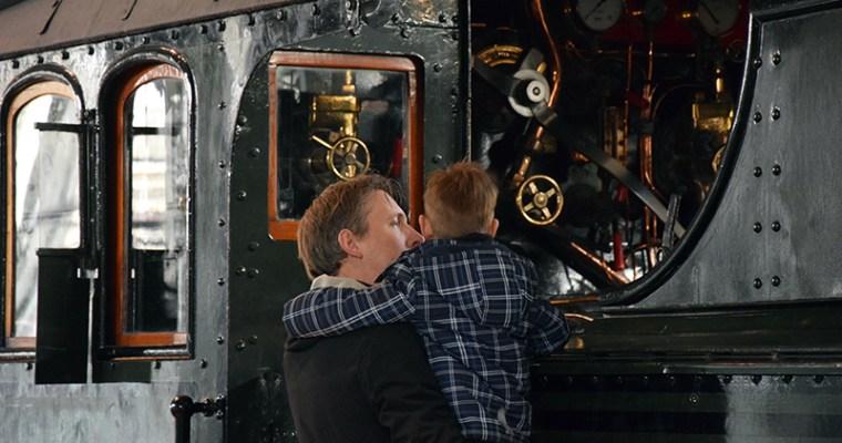 Met kinderen naar Het Spoorwegmuseum