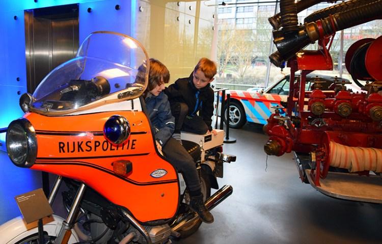 Met kinderen naar PIT Veiligheidsmuseum