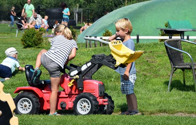 Uren plezier bij speelboerderij De Drentse Koe